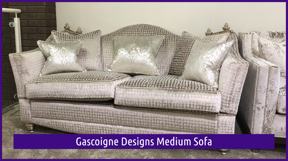 Gascoigne Designs Medium Sofa is in the Dovetail Interiors September Clearance Sale for 2017