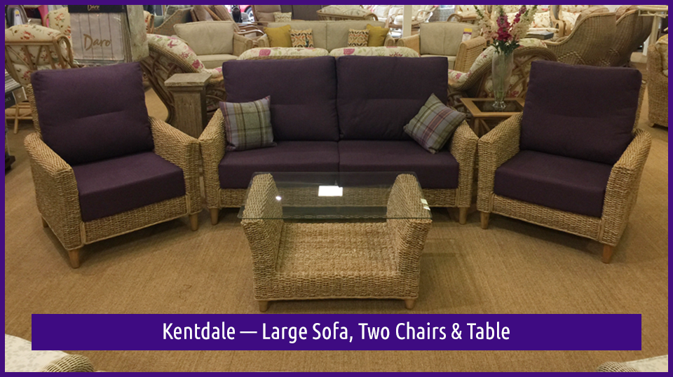 Kentdale — Large Sofa, Two Chairs & Table in the Dovetail Interiors Easter Clearance SALE