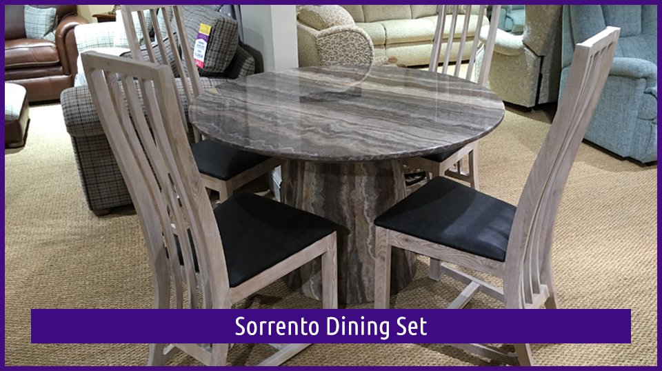 Sorrento Dining Set is in the Dovetail Interiors September Clearance Sale for 2017
